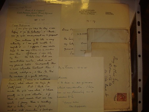 Coppard letters