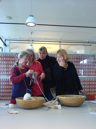 Kerstin Jonsson, workshop Japanese knitting