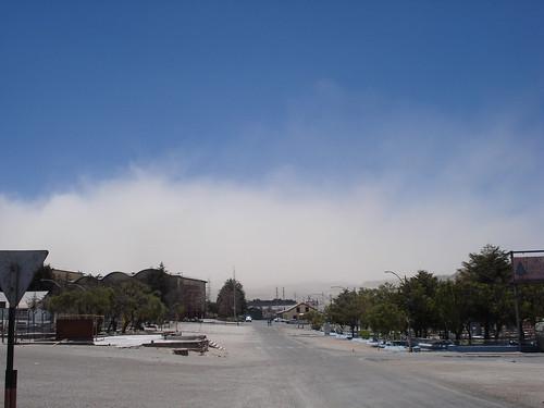 Mina de Chuquicatama tras el terremoto