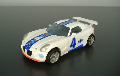 Transformers Movie Jazz G1 Repaint Alt Mode