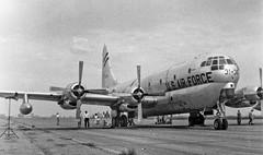 Boeing-KC-97-Stratotanker--July-1957 (Lance & Cromwell back from a Road Trip) Tags: military boeing usaf usairforce airtransport c97 oldplanes cargoplane warplanes stratotanker kc97g