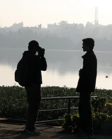 adarsh and nisarg madivala lake 241107