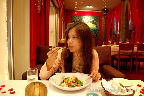 Me eating
