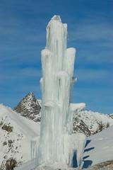 Ice Fountain (MrGreco) Tags: italy ice fountain italia fontana freddo livigno valtellina ghiaccio sondrio trepalle
