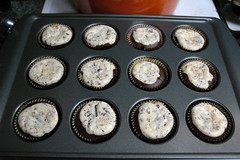 Black bottom cupcakes (jen.rizzo) Tags: food