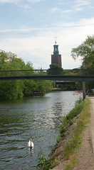 Where to get your Nobel Prize (Let Ideas Compete) Tags: travel bridge summer tower europe sweden stockholm cityhall scandinavia kajak stadshuset ldi stadshus kungsholmen stockholms kajakpaddling sthm letideascompete stkhm kayakeren