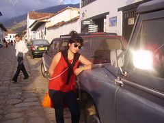 con mi land rover (la chucurea) Tags: luces villa churra chucu
