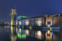 Schiedam at night (Peet de Rouw) Tags: nightphotography blue night dawn twilight nacht dusk explore bluehour dri hdr schiedam nachtfotografie flickrsbest efs1755isusm anawesomeshot absolutelystunningscapes denachtdienst peetpics peetderouw peetderouwfotografie gettyimagesbeneluxq1