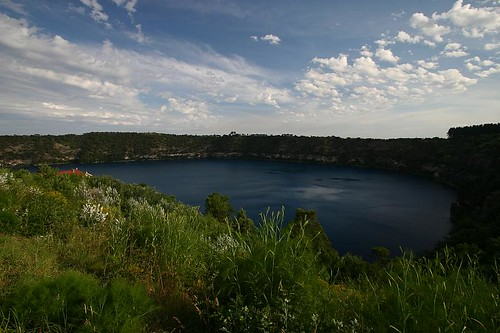 Mt. Gambier's Blue Lake.