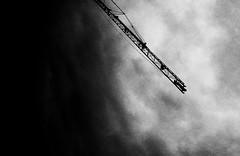 Traveling Without Moving (mImma sEnna) Tags: sky bw white black art clouds blackwhite noir skies artistic diagonal blanc blancinegre bwdreams blancnoir