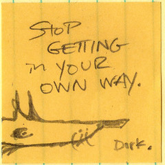 """karzak """"dork"""" - small Amber post-it (eric Hews) Tags: life usa dog white black color make yellow start pencil fun virginia is photo funny eric pix artist comic post image action good yo  humor cartoon creative picture postit free pic it richmond honest note doodle photograph independent despair writer comicstrip conversation gif illustrator express jpg create toon simple jpeg 2008 something say yourself meaning repeat observations sarcastic antidote bipolar cynical observational hews erichewscom 2008erichews ennuizle"""