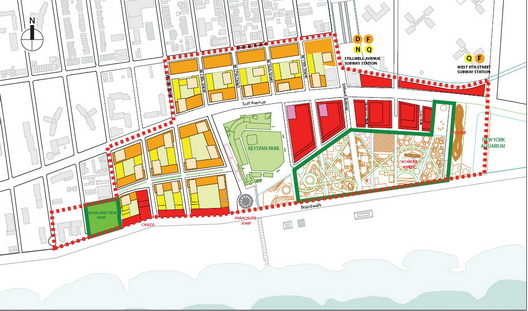 Coney Rezoning Map