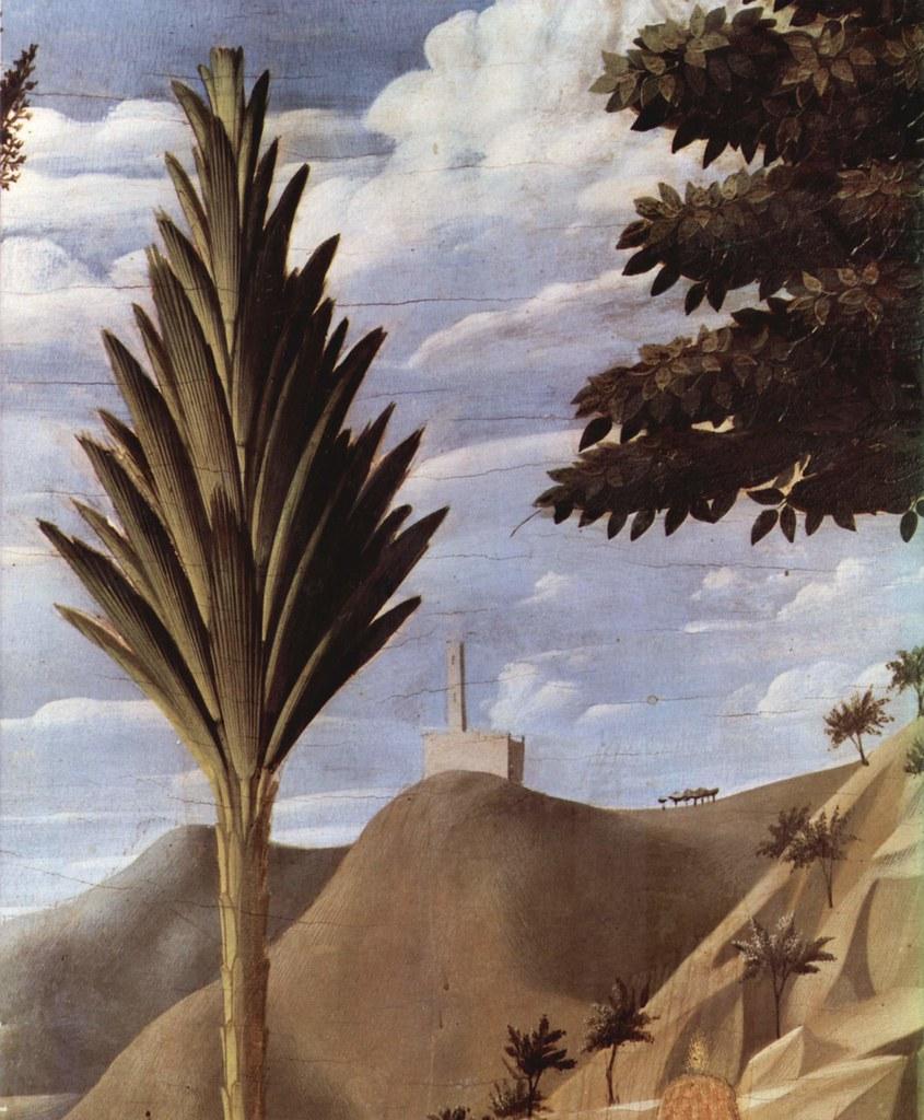ANGELICO, Fra Kreuzabnahme, Landschaft, 1437-40