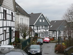 Typical German houses /    (mitko_denev) Tags: houses germany village atmosphere nrw typical nordrheinwestfalen hattingen northrhinewestphalia blankenstein