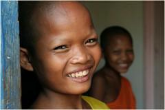 novices-Cambodia (kinginexile) Tags: portrait portraits children temple eyes asia cambodia smiles buddhism phnompenh novice itsongmirrorssoutheastasia novices iloveyoursmile anawesomeshot
