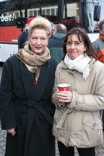 Dagmar Metzger und Andrea Ypsilanti