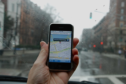 Viewing Google Maps while Offline on your iPhone or iPod Touch