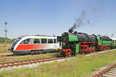 "BDZ 2-10-0 steam locomotive 16 01 encounters a Siemens ""Desiro"" DMU, Bulgaria, August 23, 2006 (Ivan S. Abrams) Tags: arizona 20d canon20d ivan eisenbahn bulgaria getty abrams railways trainspotting gettyimages railroads trens dampflok steamtrains 2100 smrgsbord tucsonarizona steampowered ferrovie chemindefer steampower steamlocomotives oldtrains railfans 12608 bdz railwayenthusiasts movingtrains siemensdesiro onlythebestare internationalrailways bulgariastaterailways ivansabrams trainplanepro bulgariansteamlocomotives kostadinmihailov assenstoyanov pimacountyarizona safyan arizonabar preservedlocomotives arizonaphotographers railwayexcursions ivanabrams specialtrains fantrips cochisecountyarizona railroadexcursions raifans railfanspreserved locomotivestrainsrailwaysrailroadssteam powersteam enginesdampflokscanon railwaytouringcompany locomotivesavapeur locomotivesavapore ferriovia restoredlocomotives trainsaroundtheworld tucson3985 gettyimagesandtheflickrcollection copyrightivansabramsallrightsreservedunauthorizeduseofthisimageisprohibited tucson3985gmailcom ivansafyanabrams arizonalawyers statebarofarizona californialawyers copyrightivansafyanabrams2009allrightsreservedunauthorizeduseprohibitedbylawpropertyofivansafyanabrams unauthorizeduseconstitutestheft thisphotographwasmadebyivansafyanabramswhoretainsallrightstheretoc2009ivansafyanabrams abramsandmcdanielinternationallawandeconomicdiplomacy ivansabramsarizonaattorney ivansabramsbauniversityofpittsburghjduniversityofpittsburghllmuniversityofarizonainternationallawyer"