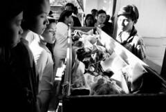 Klong Toey (JPHulme) Tags: boy people blackandwhite girl portraits thailand faces bangkok burma refugee refugees photojournalism documentary karen relief monks thai drugs temples shanty innercity shan buddist muay ordination slum reportage klong insurgents refugeecamps displaced displacement labourers toey shantytowns migrants drugabuse migrantworkers internallydisplacedpeople rubishdump slumcommunity