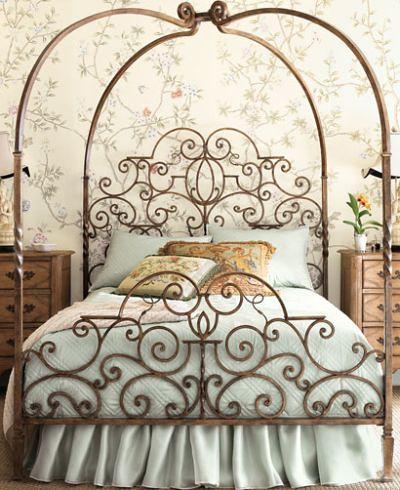 Tuscany canopy bed