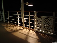 Nippon Maru at night (Shaima82_4) Tags: light shadow night fence dark ship deck nippon 20 maru swy swy20