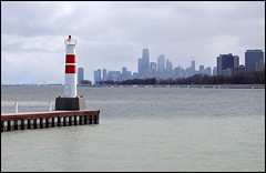 Leaving Montrose Harbor