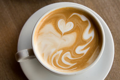 Latte HeArt (amanky) Tags: usa cute cup coffee breakfast oregon wow wonderful interestingness downtown heart awesome saturday explore mug latte 2008 latteart hoodriver saucer march8 canonef28135mmf3556isusm interestingness89 i500 dogrivercoffee saturdaycoffee march2008 march82008 latterheart explore10mar08 march10200889