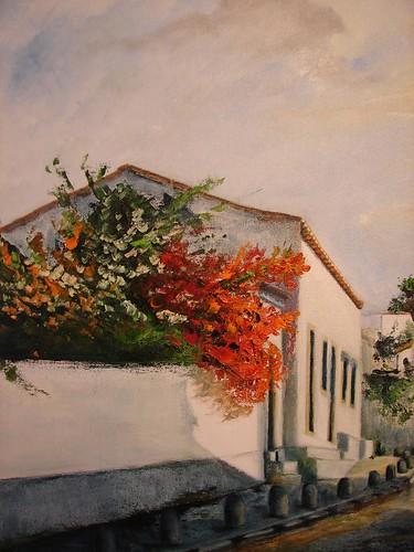 óleo/oil - Margarida Parada Cagica Pinto - fotografia alojada em www.flickr.com