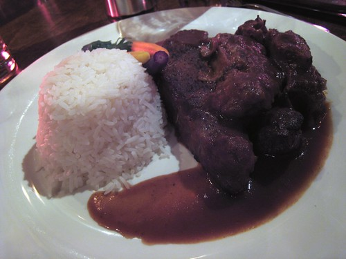 Braised short ribs and coconut rice, China1