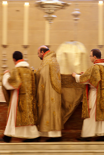 Incensing the High Altar
