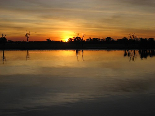 Yellow Waters sunset (Australia)