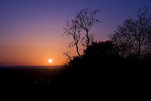 Sunset, Bidston Hill