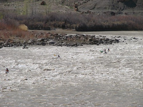 kayakers on Green River