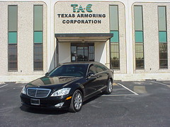 Armored Bulletproof 2009 Mercedes-Benz S550!