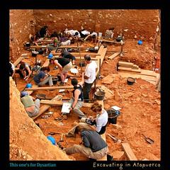 Excavando en Atapuerca