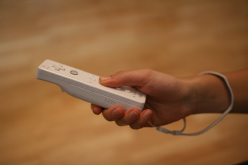 hold the wiimote #2