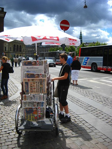 Newspaper Bike