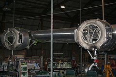 20081019_1197 B24 Starbord Wing (williewonker) Tags: aircraft wing australia victoria mount restoration bomber nationaltrust liberator raaf b24 werribee a72 a72176