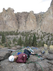 Smith Rock_Rock3Outing (itsoinky) Tags: oregon climb bend gear climbing bouldering ropes harness rockclimbing knots smithrock