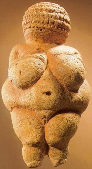 As mulheres mandavam na escultura da pré-história ;)