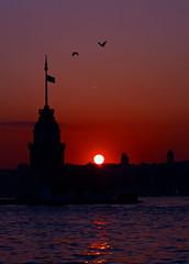 Güneşin Kız Kulesine Vedası