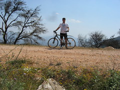Cycling on Mt. Ymittos (Christos_Chasapopoulos) Tags: bike scott cycling athens glyfada ymittos