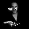 Gambler (Benoit Courti) Tags: absoluteblackandwhite —obramaestra—