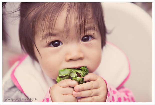 May 12 - Mmmm... Broccoli...