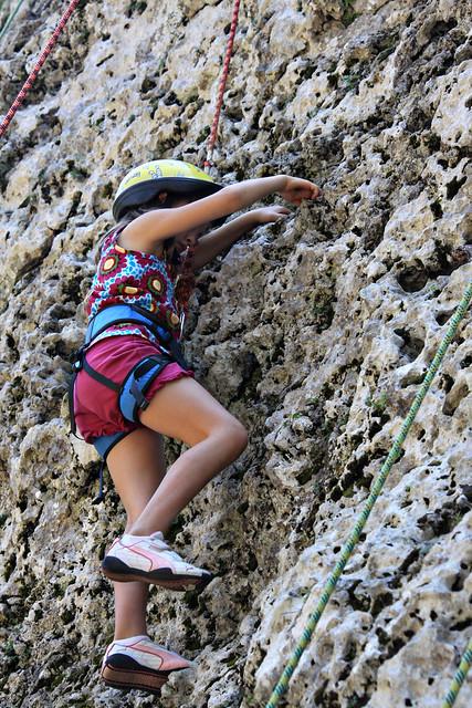 climbing up 5