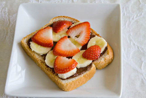 Strawberry Banana Nutella Panini - 2