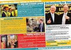 Scottish Liberal Democrats Election Leaflet, Scottish Election 2011 (Scottish Political Archive) Tags: scotland election fife scottish smith publicity campaign democrat liberal 2011