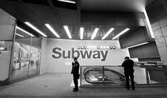 Subway Police (Leetol) Tags: nyc newyorkcity delete10 delete9 subway delete5 delete2 delete6 delete7 escalator police nypd delete8 delete3 delete delete4 save save2 patrol deletedbydeletemeuncensored leetol nycmarch2011 ethanklosterman