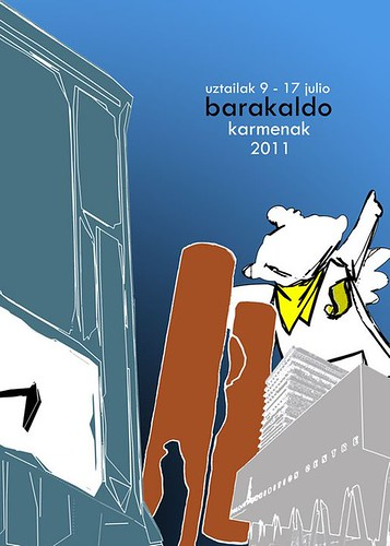Cartel 12. Concurso Carteles de Fiestas de Barakaldo 2011