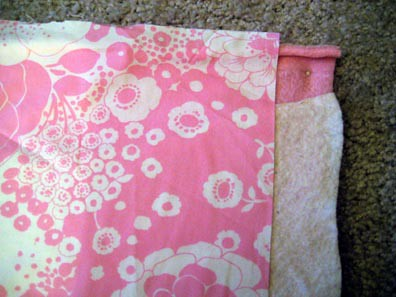 Starting the pink quilt